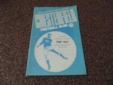 Chesterfield v Port Vale, 1972/73